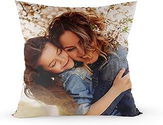 KALLPA Cojines Personalizados (Varias Medidas) para día de la Madre con Fotos, imágenes, Logos o Frases, cojín de Regalo Personalizado y Original para Aniversarios, cumpleaños, San Valentín,