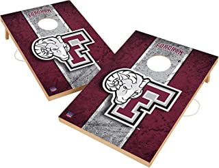 Victory Tailgate NCAA Solid Wood 2x3 Cornhole Game Set - 2 Boards, 8 Bags - Vintage Version - Multiple Schools Available