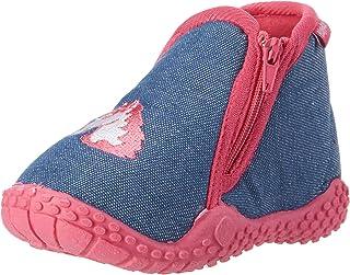 Playshoes Chaussons Licorne, Pantoufles Fille