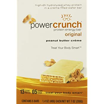 Power Crunch Protein Energy Bar Peanut Butter Creme - 1.4 Ounce Bars, 5 Count