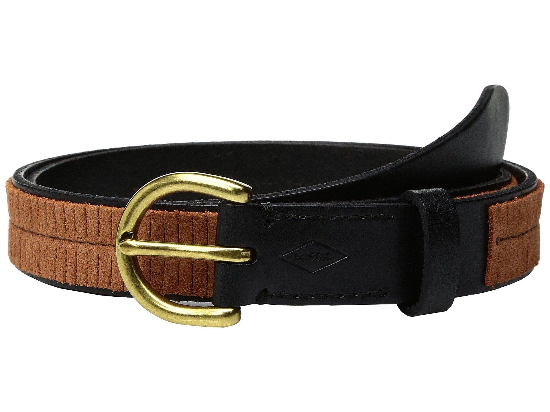 Correa o Cinturon para Mujer Fossil Fringe Skinny Belt  + Fossil en VeoyCompro.net
