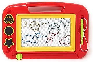 Tablero de dibujo magnético Kidsthrill, tablero de escritura y dibujo, colores variados