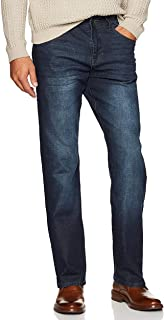 Men's Comfort Stretch Denim Jeans (Relaxed Fit)
