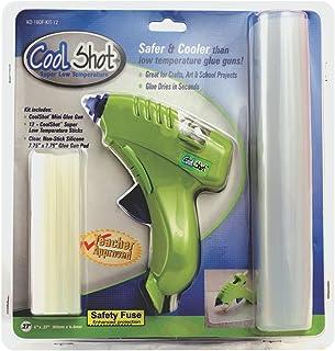 Ultra Low Temp Cool Shot Mini Glue Gun 12 Sticks Included
