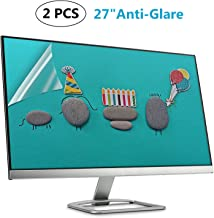 """(2 PACK) 27 Inch Anti Glare Matte Screen Protector for 27"""" Widescreen Monitor Display 16:9/Matte Screen Guard (Size: 23.43 inch13.15 inch)"""