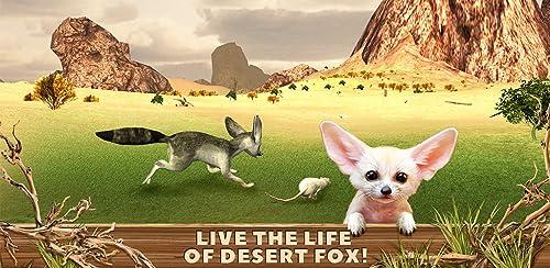 『Fennec Fox Simulator 3D: Desert Wilderness Little Beast Surviving Game』のトップ画像