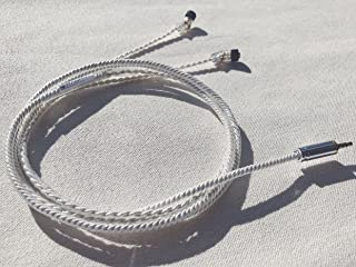 WAGNUS. Flagship Earphone Upgrade Audio Cable Re Cable Frosty Sheep -Emotional Edition- 3.5Mm 3Pole Single-End Jh4Pin Type No Variable Bass Control