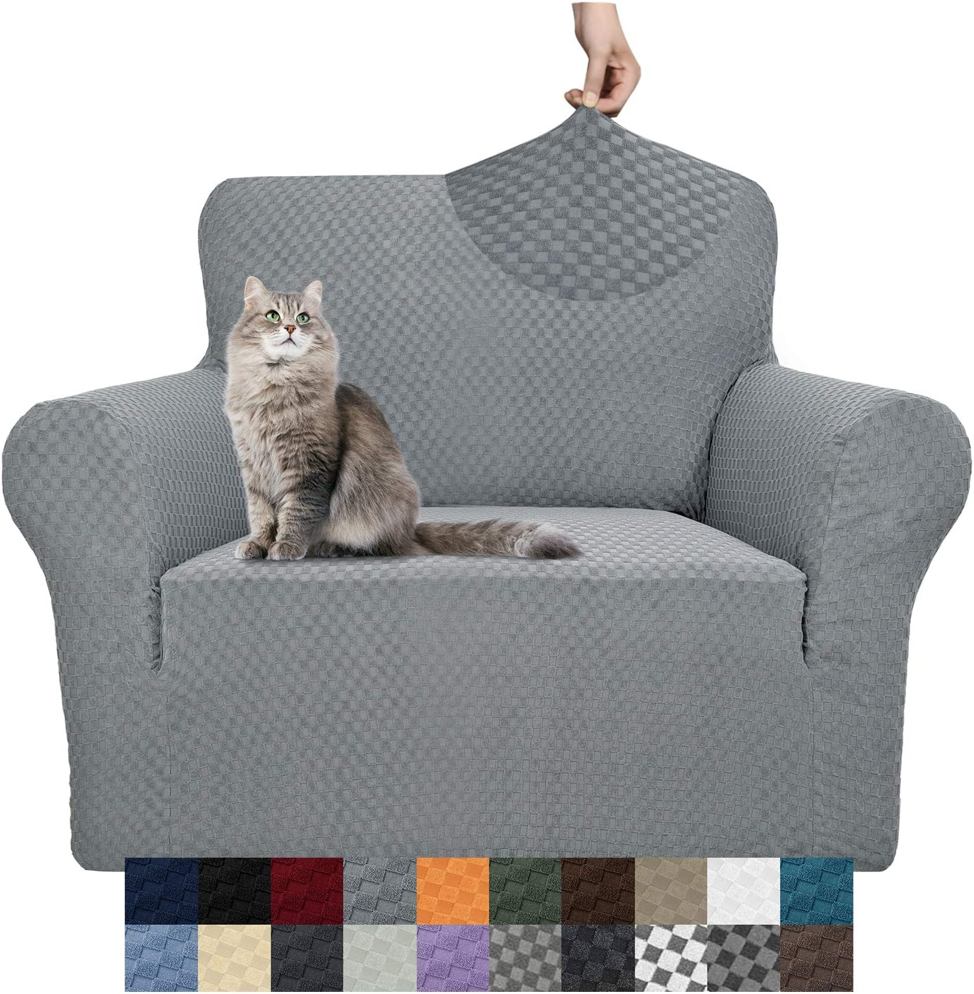 YEMYHOM Couch Los Angeles Mall Cover Sale Latest Jacquard Cha Sofa Stretch High Design