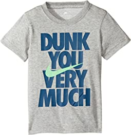Nike Kids - Dunk You Very Much Tee (Little Kids)