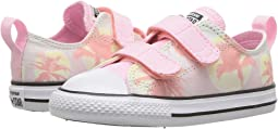 Converse Kids Chuck Taylor All Star Palm Trees 2V Ox (Infant/Toddler)