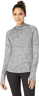 Amazon Brand - Core 10 Women's (XS-3X) Cozy Fitted Workout Long Sleeve Hoodie