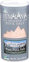 NATIERRA Himalania Himalayan Fine Pink Salt Shaker | Unrefined & Non-GMO | 13 Ounce