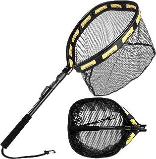Floating Fishing Net Folding Landing Net with Telescopic...