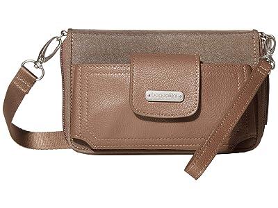 Baggallini New Classic RFID Phone Wallet Crossbody (Portobello Shimmer) Cross Body Handbags
