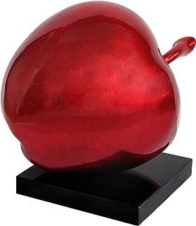 Premier Housewares High Gloss Apple Sculpture, 46 x 36 x 43 cm - Red