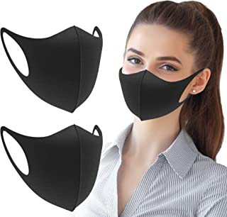 GiniHomer 3 Pack Unisex Face, Outdoor Anti-Haze Face Durable Breathable Lightweight Face Shield Dust Mouth