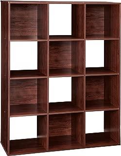 ClosetMaid 1022 Cubeicals Organizer, 12-Cube, Dark Cherry