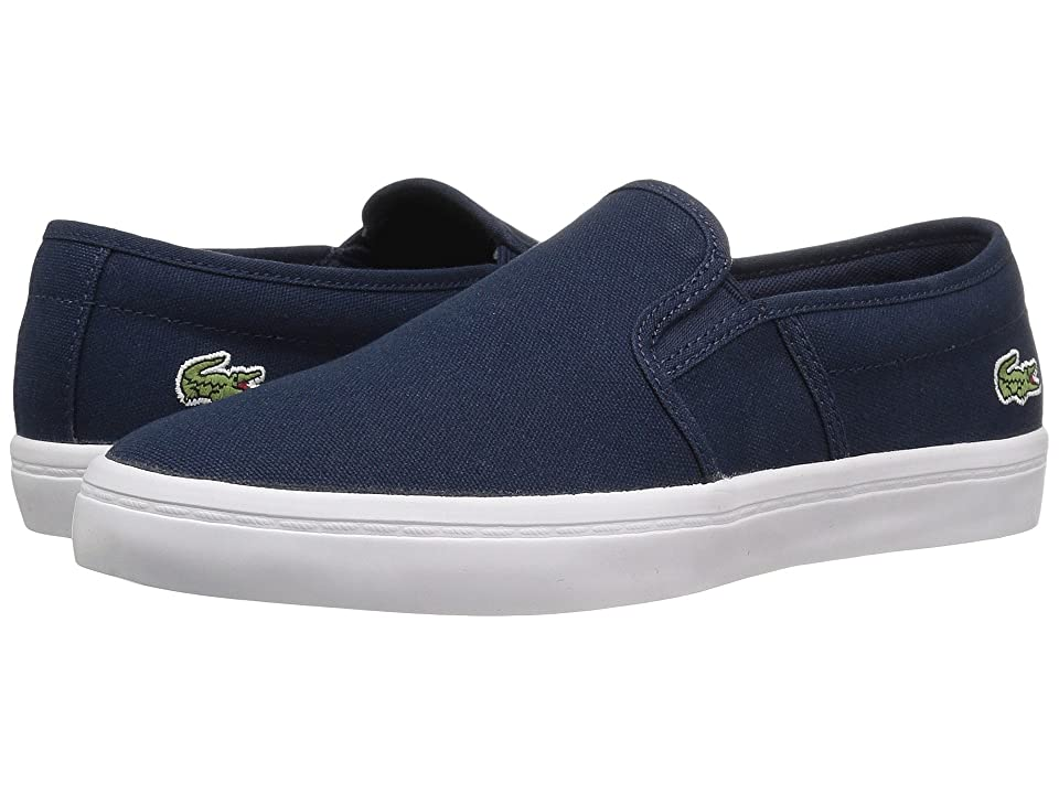 Lacoste Gazon BL 2 Canvas (Navy) Women's Shoes