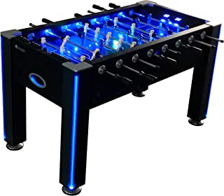 Atomic Azure LED Light Up Foosball Table