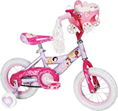 Huffy Girl's Disney Princess Bike, Soft Pink/Pink, 12-Inch