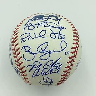 Miguel Cabrera & Justin Verlander 2010 Detroit Tigers Team Signed Baseball - Autographed Baseballs
