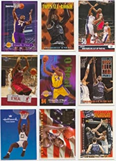 Shaq/25 Different Basketball Cards Featuring Shaquille with Rookie Card