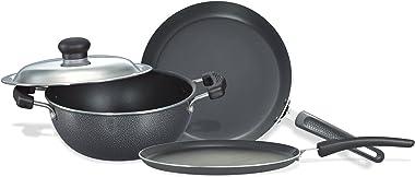 Prestige Omega Select Plus Residue Free Non-Stick Kitchen Set, 3-Pieces