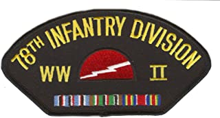 78th Infantry Division WWII Hat Patch