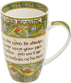 Irish Blessing bone china mug -