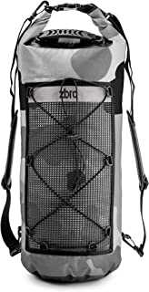 ZBRO Waterproof Dry Bag Backpack with Padded Straps and Mesh Pocket - Floating Dry Bags for Water Sports Travel Kayaking Boating Swimming Snorkeling Camping - Dry Sack 20l 30l 40l for Kayak or Boat