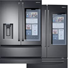 AD1000 Screen Defender/Protector for Samsung 3 or 4 door French style fridge w/HUB Display- Clear