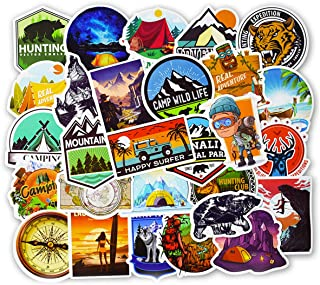 EKIND Not Repeat Graffiti Stickers for Tablet Skateboard Car Decals Bicycle (50Pcs, Outdoor Adventure)