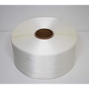 PACK Metallklemmen//Klemmen f/ür Umreifungsband//Textilumreifungsband//Verpackungsband 19 mm 1000 St/ück