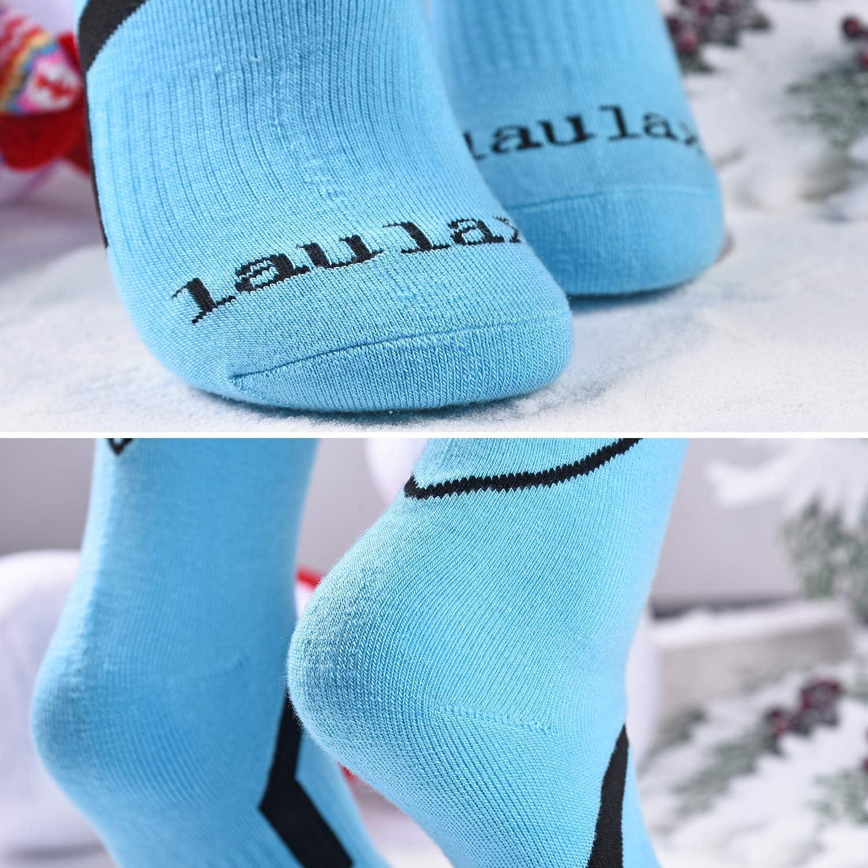 Laulax Hohe Qualit/ät Ski Socke Herren und Damen 3/Paar Geschenk Set