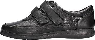 Valleverde - Sneaker con Strappi in Pelle Nera