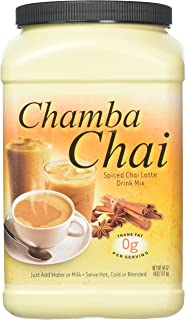 Big Train Chamba Chai Spiced Chai Latte, Two 4lb. Jugs