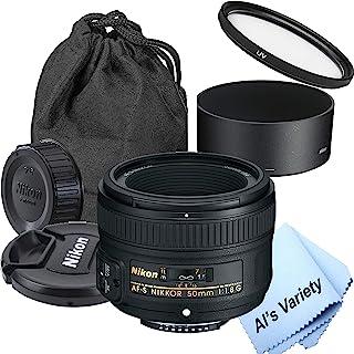 Nikon AF-S NIKKOR 50mm f/1.8G Lens (7pc)