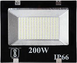 ESS EMM® 200 Watt Ultra Thin Slim Ip66 LED Flood Outdoor Light Cool White Waterproof- 200W,Pack of 1
