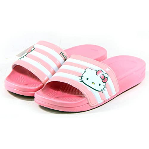 d230f6684 Hello Kitty LALA Lovely Womens Summer Slippers Shoes Beach Pool Pink US  size 6