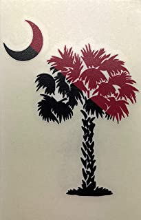 Auto Graphics South Carolina Palmetto Tree and Crescent Moon Decal - 5