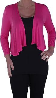 acheter populaire 96980 25482 Amazon.fr : gilet rose fushia femme