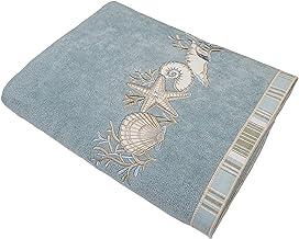 Avanti Linens Sand Shells, Bath Towel, Mineral