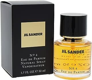 Jil Sander #4 By Jil Sander For Women. Eau De Parfum Spray 1.7 Ounces