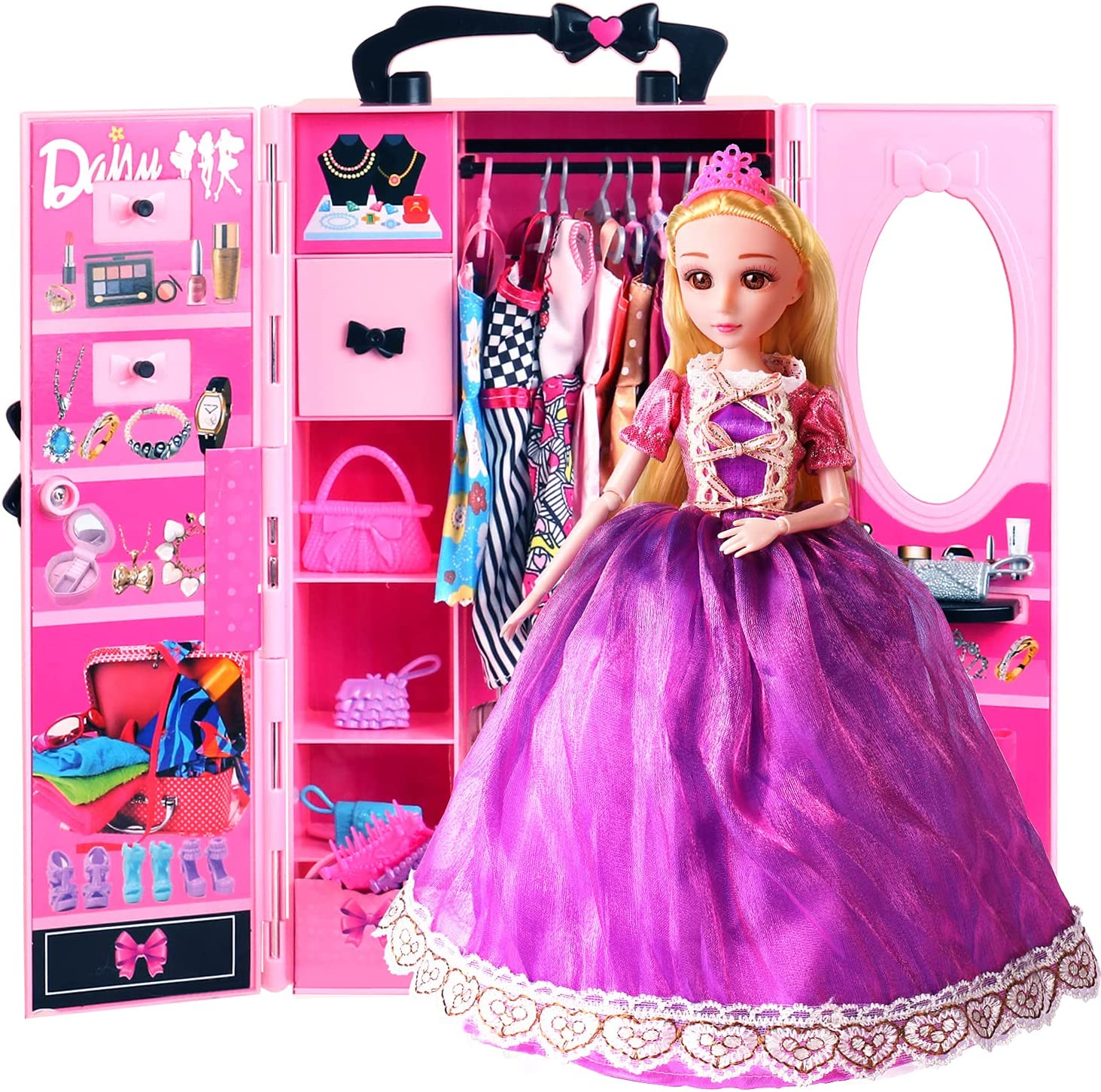 UCanaan 51 Pack Baby Doll Clothes El Paso Mall Accessories PCS 5 Tampa Mall Fashion and