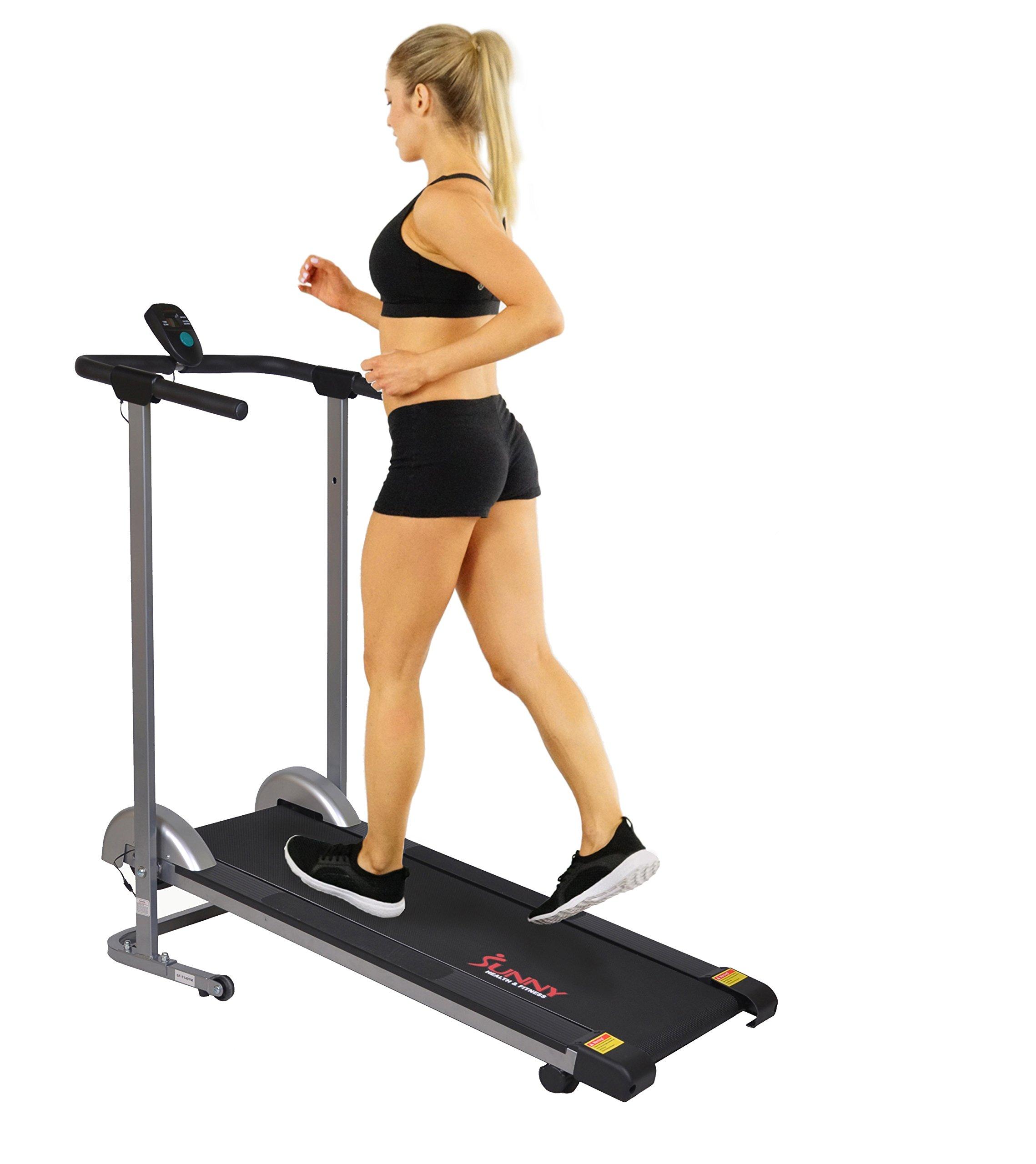 Sunny Health Fitness SF T1407M Treadmill