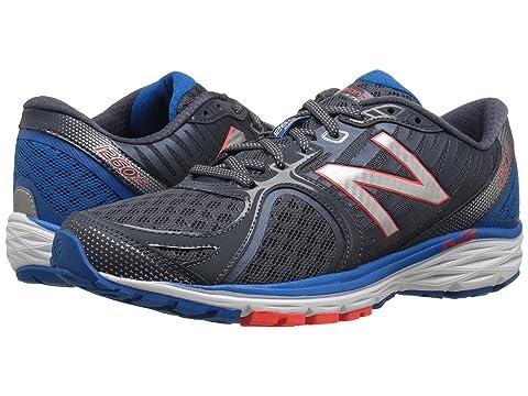 New Balance M1260v5 Silver/Blue Men's Running Shoes 8550148