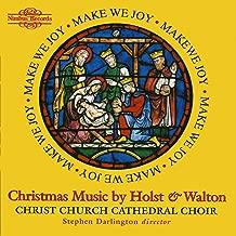 Holst & Walton: Christmas Music