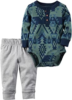 Carters Baby Boys Bodysuit Pant Sets 121g454