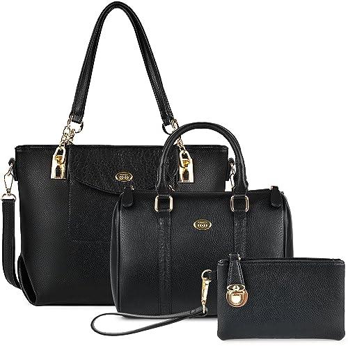 COOFIT Bolsos Mujer, Bolsos Cuero Bolso Bandolera Bolso Tote Bag Bolsos Shopper Bolso Bowling Bolsos
