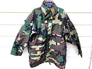 Genuine Usmc Gen II Ecwcs Gore Tex Woodland Camo Cold Weather Parka - Large Regular